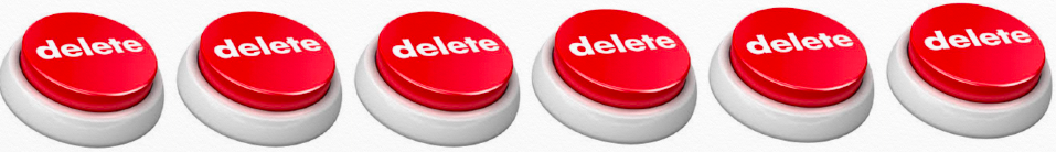 Delete buttons