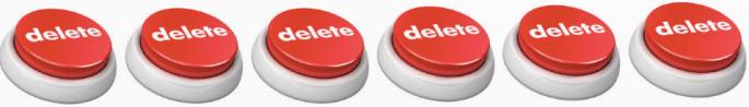 Delete buttons