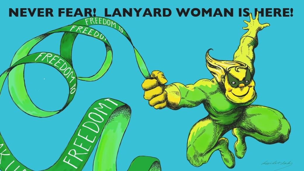 Lanyard Woman
