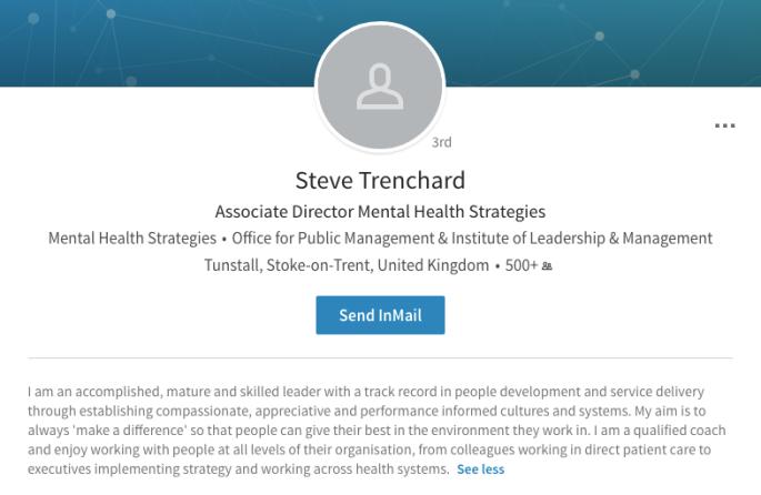 Trenchard LinkedIn