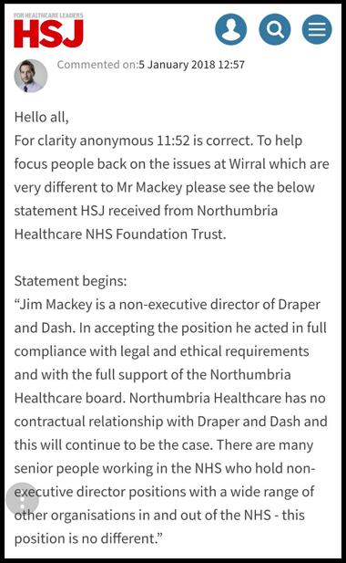 Shaun Lintern Draper and Dash focus away from Jim Mackey