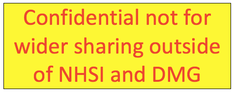 NHS Improvement gag on ESS documents