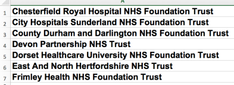 NHS Improvement employer pool seven trusts .png