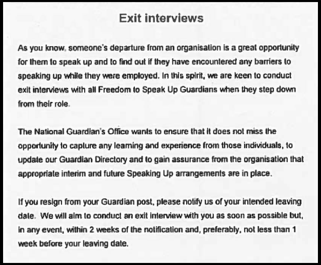 Bull Exit Interviews 1