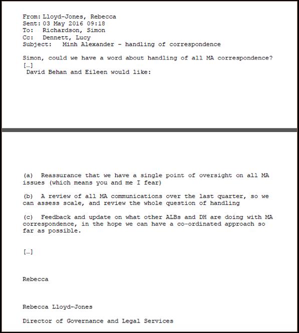 B Behan ordered protocol