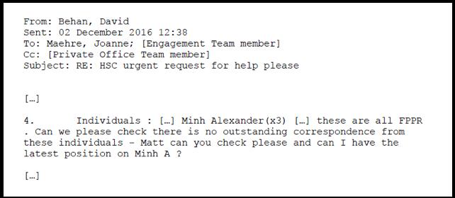 B Urgent