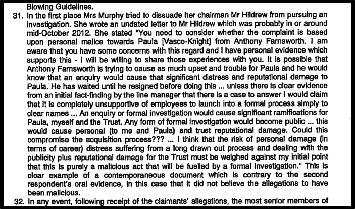 Blog 3 Murphy tried to block investigation PVK ET