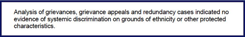 PHE excerpt from Parish report on Femi Oshin
