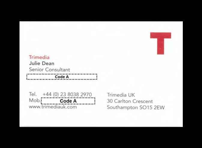 ATrimedia business card
